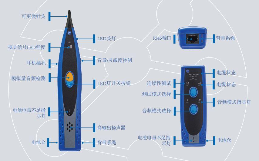 音频发生器和寻线器 - 新的