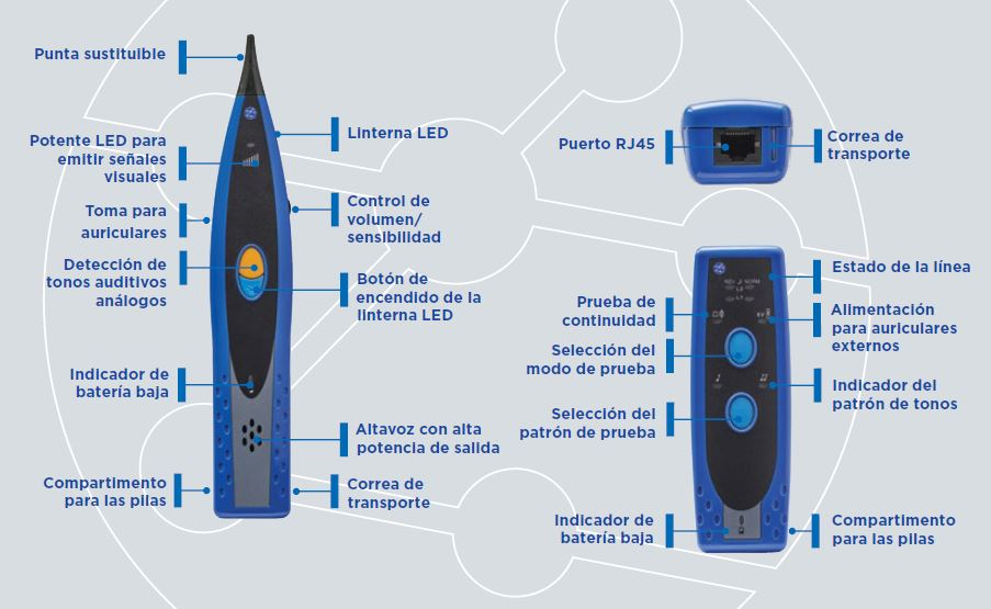 Generador y Sonda de Tonos - NUEVO